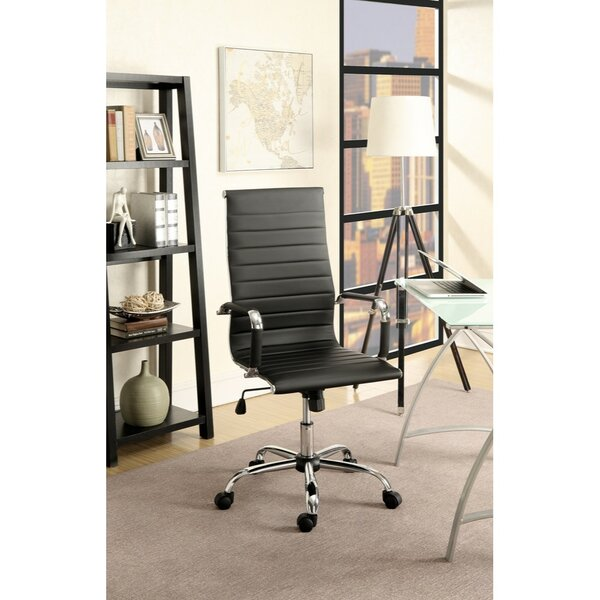 Shortwood Smart Gas Lift Adjustable Height Executive Chair by Orren Ellis