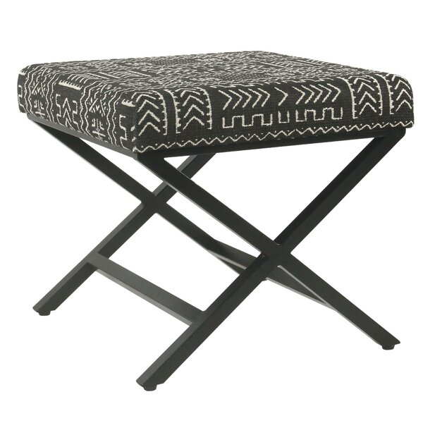 Josepha Tribal Ottoman by Union Rustic
