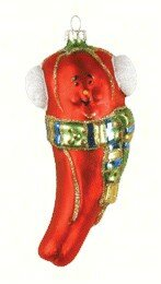 Hot Chili Pepper Hanging Figurine by The Holiday Aisle