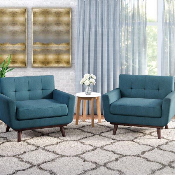 Saginaw Armchair (Set of 2) by Corrigan Studio Corrigan Studio