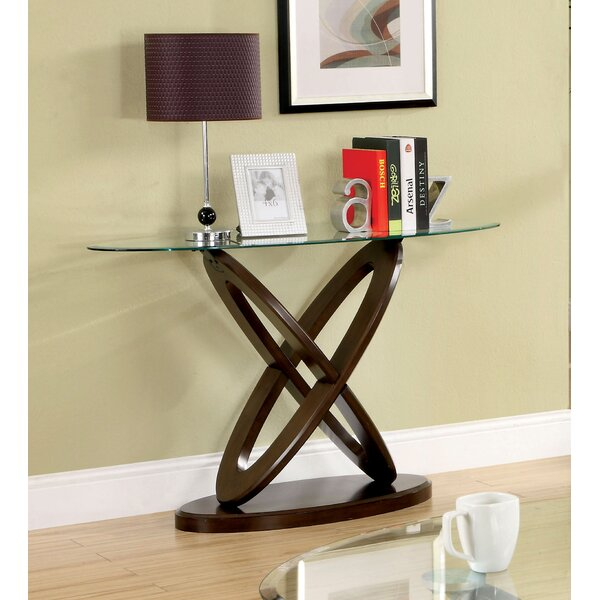 Alexa Console Table By Hokku Designs.