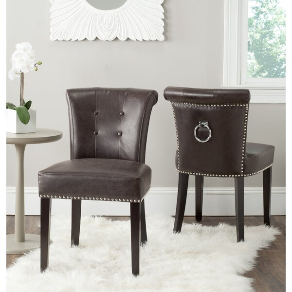 Dedman Dining Chair (Set of 2) by Alcott Hill