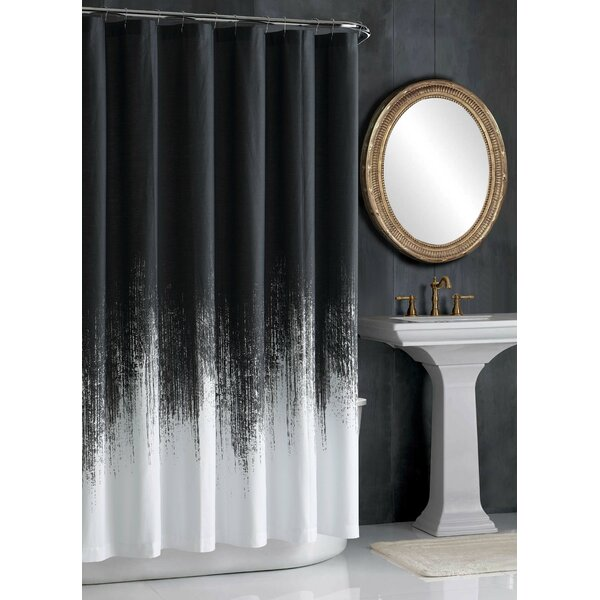 Lyon Cotton Shower Curtain by Vince Camuto