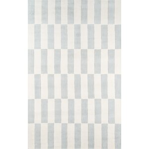 Breaker Hand-Tufted Gray/Blue Area Rug