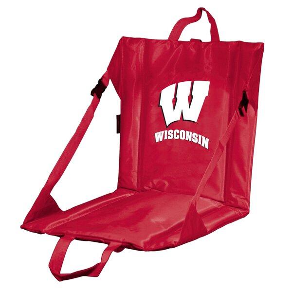 Collegiate Stadium Seat - Wisconsin by Logo Brands
