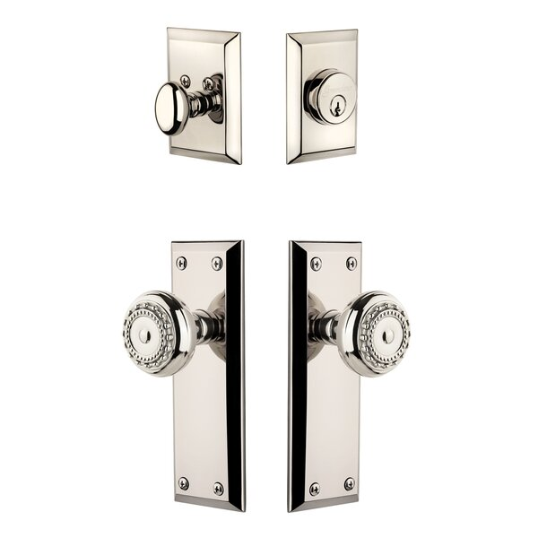 Fifth Avenue Single Cylinder Knob Combo Pack by Gr