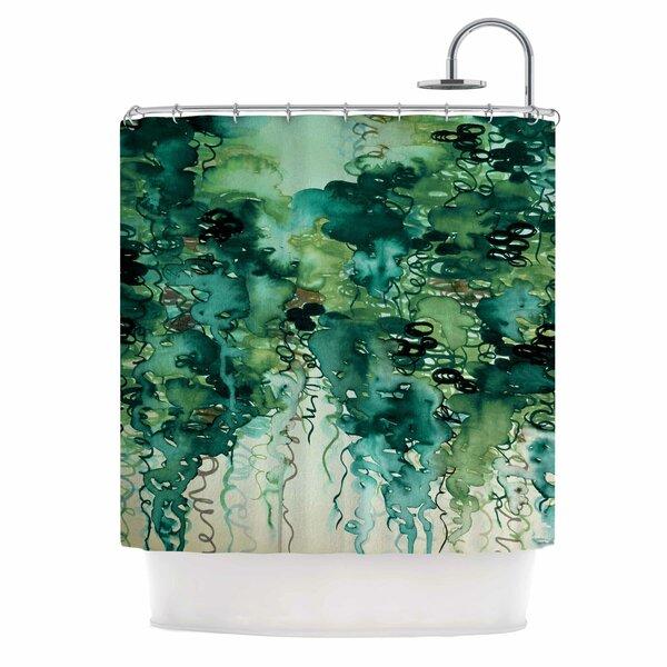 Ebi Emporium Beauty in the Rain Shower Curtain by East Urban Home