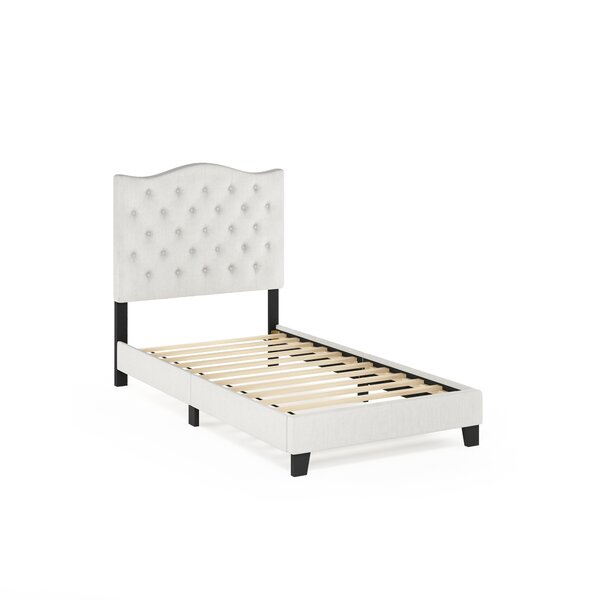 Marne Upholstered Platform Bed by Alcott Hill