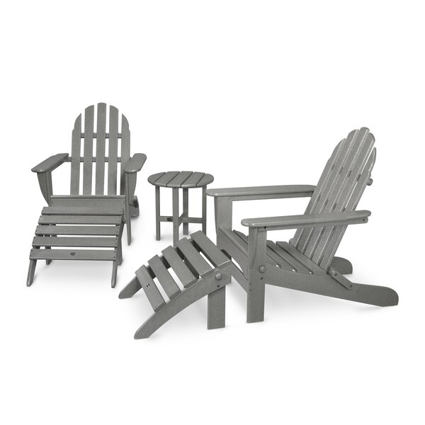 Classic Adirondack 5 Piece Seating Group by POLYWOOD POLYWOOD®