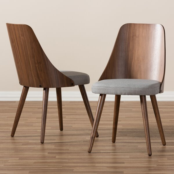 Wiebe Solid Wood Dining Chair (Set of 2) by George Oliver