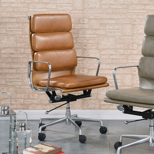Botsford PU High Back Office Executive Chair by Latitude Run