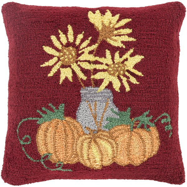 Allentown Sunflowers Pillow Cover by August Grove