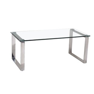 Merveilleux Messancy Glass Coffee Table