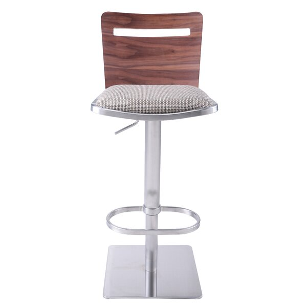 Danika Adjustable Height Swivel Bar Stool by AC Pacific