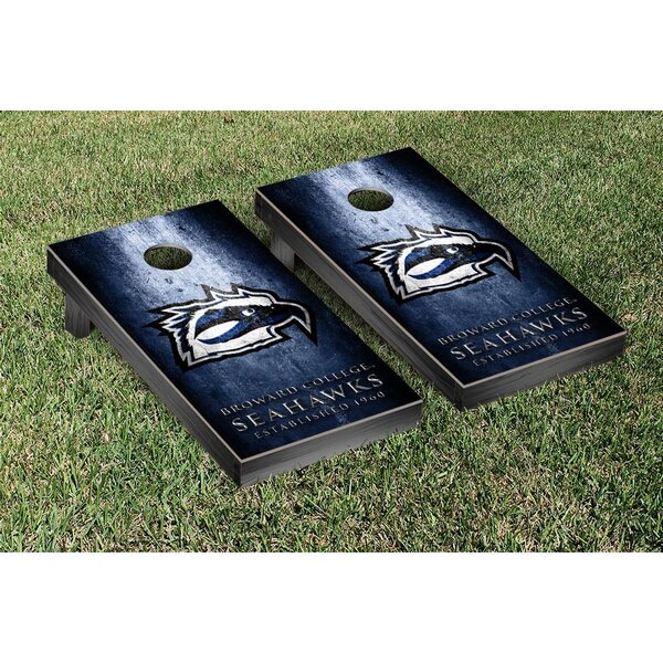 Broward Seahawks Metal Version Cornhole Game Set by Victory Tailgate