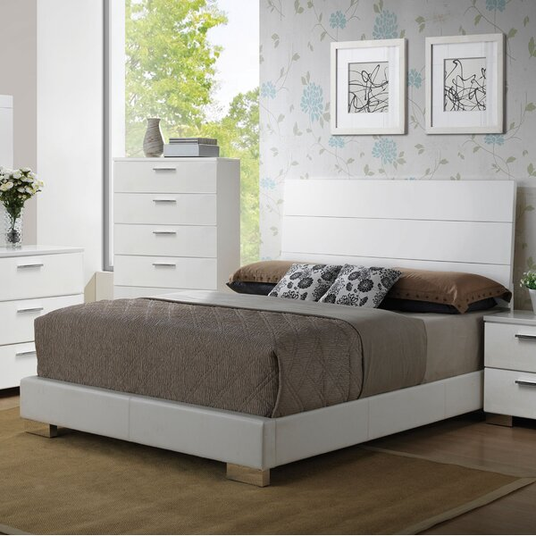 Lesher Upholstered Panel Bed by Latitude Run