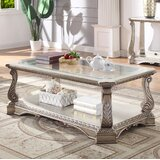 Forsyth Coffee Table with Storage by Rosdorf Park