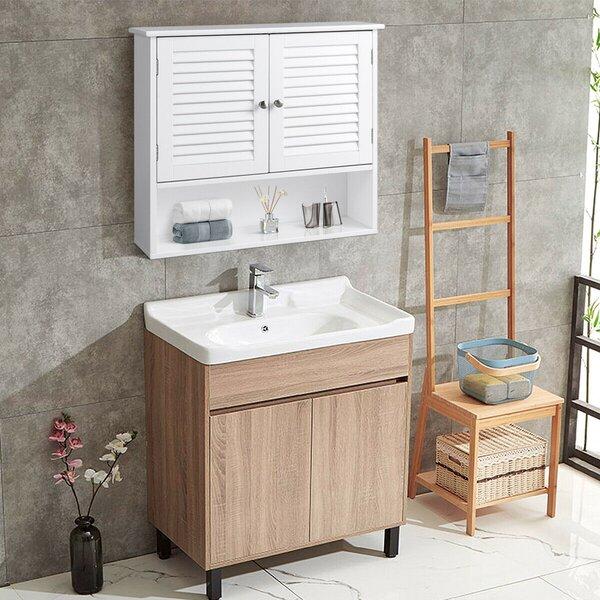 26 W x 25 H x 8.5 D Wall Mounted Bathroom Cabinet