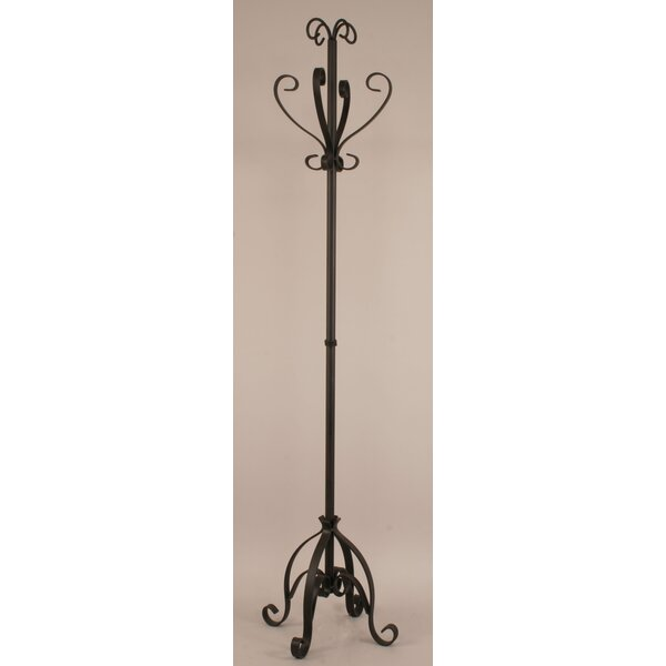 Plain Pedestal Coat Rack by Coast Lamp Mfg.