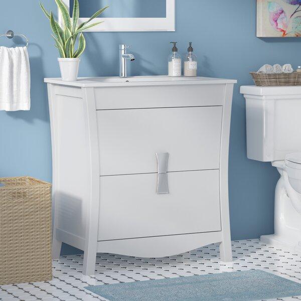 Cataldo Solid Wood Floor Mount 30 Single Bathroom Vanity Set by Royal Purple Bath Kitchen