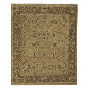 Grant Gold Hand Knotted Rug