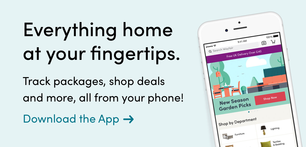 Everything home at your fingertips. Track packages, shop deals and more, all from your phone - Download the App