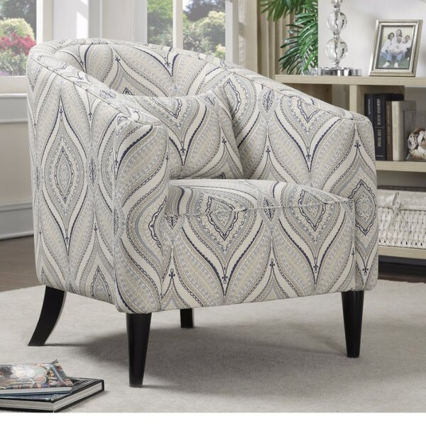 Hayner Barrel Chair by Bungalow Rose