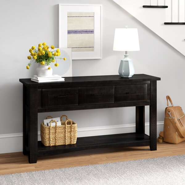Coupon Soham 55 Console Table by Three Posts