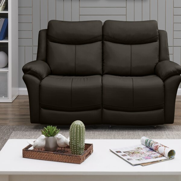 Jabari 2 Seat Wall Hugger Reclining Home Theater Loveseat by Red Barrel Studio