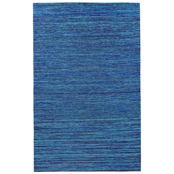 Sari Silk Handmade Blue Area Rug by St. Croix