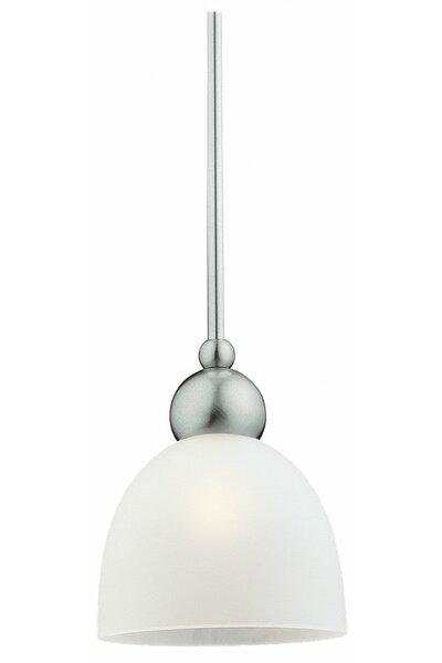 Terrance 1-Light Cone Pendant by Latitude Run