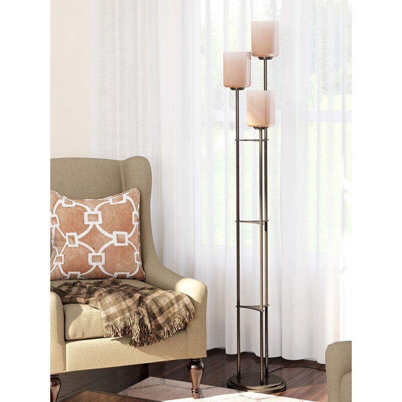 "Latitude Run Archlebov 63.5"" Tree Floor Lamp & Reviews"
