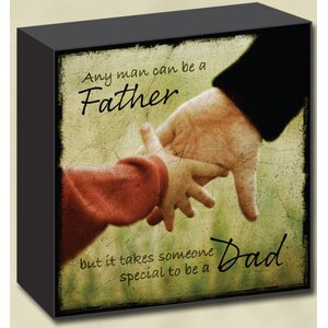 Lightscapes Father/Dad General Textual Plaque by Imagine Design