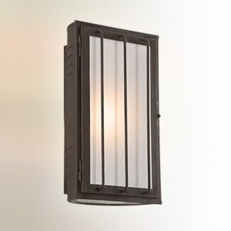 Nero 1-Light Outdoor Flush Mount by 17 Stories