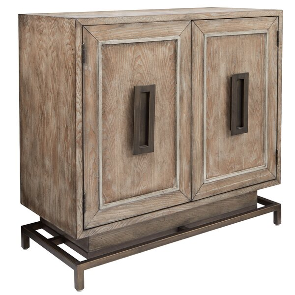 Miceli 2 Door Accent Cabinet by Bungalow Rose Bungalow Rose
