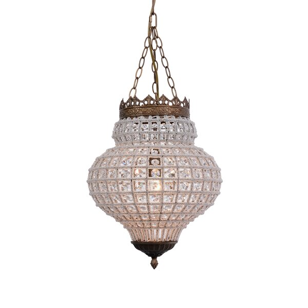 Montgomery Unique / Statement Empire Chandelier By Astoria Grand