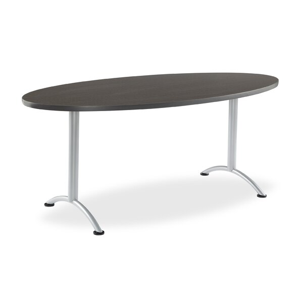 Racetrack/Oval 29H x 36W x 72L Conference Table by Symple Stuff