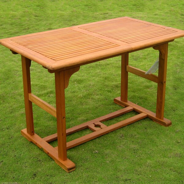 Sabbattus Extendable Dining Table by Breakwater Bay