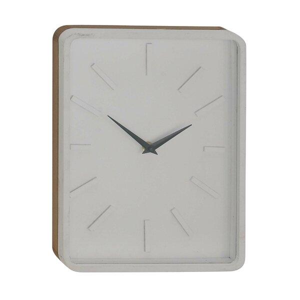 Varney Vintage Rectangular Wall Clock by George Oliver