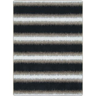 One-of-a-Kind Frasher Hand Woven Black/White Area Rug By Ivy Bronx
