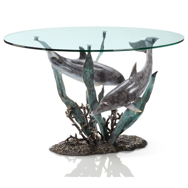 Dolphin Duet Coffee Table by SPI Home