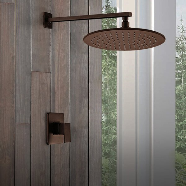 Rain Thermostatic Complete Shower System With Rough-in Valve By FontanaShowers