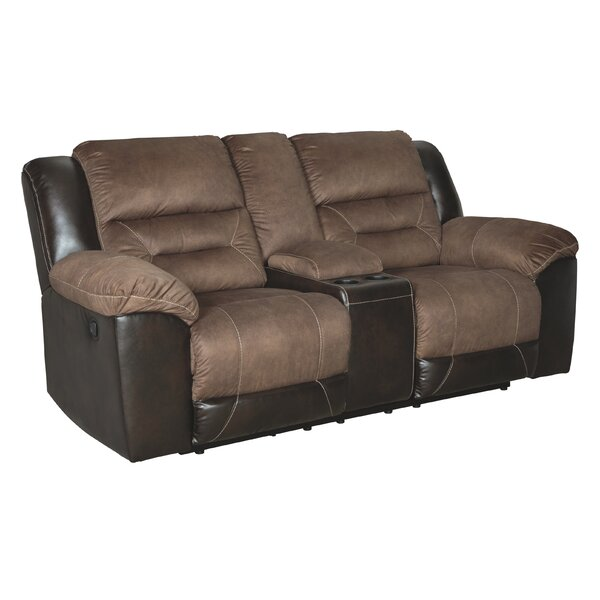 A Wide Selection Of Piner Reclining Loveseat by Red Barrel Studio by Red Barrel Studio