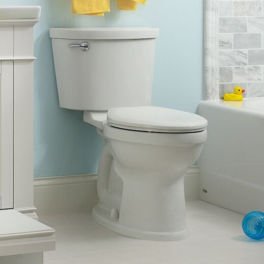 Champion 1.6 GPF Elongated Two-Piece Toilet by American Standard
