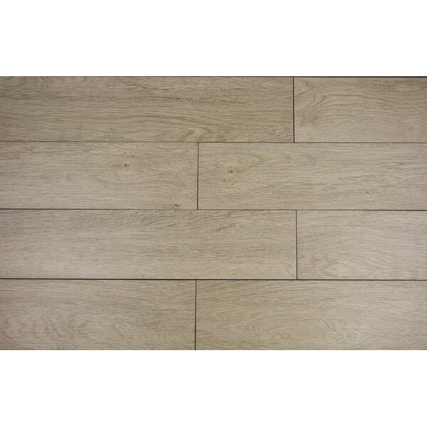 Norway Series 6 x 36 Porcelain Field Tile in Argento by RD-TILE