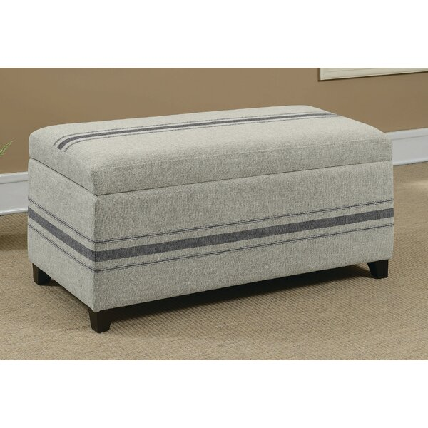 Meece Upholstered Storage Bench by Darby Home Co