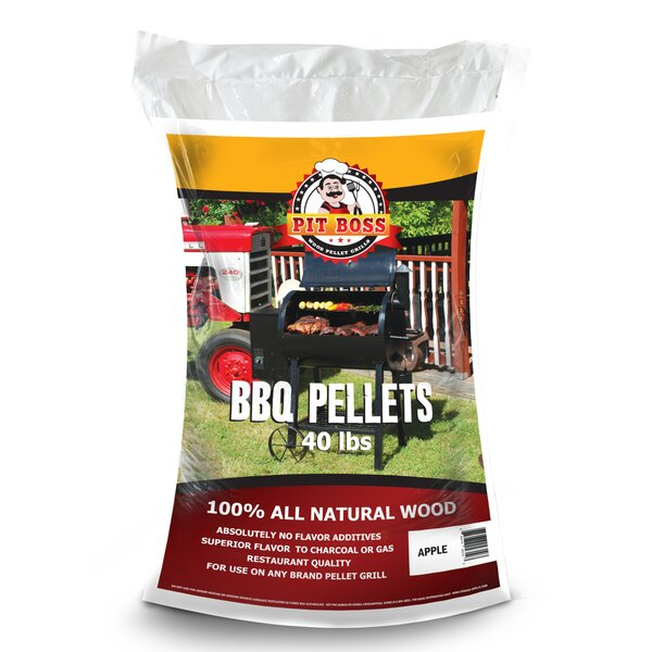All Natural Hardwood Pellets - Apple by Pit Boss