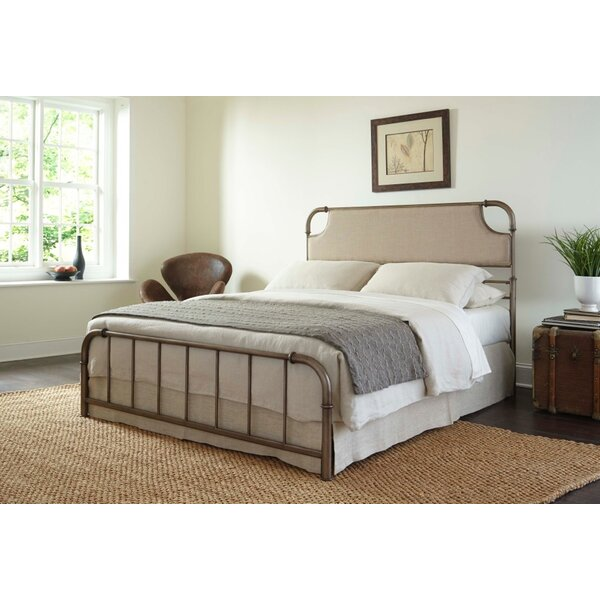 Mize Upholstered Panel Bed by Williston Forge