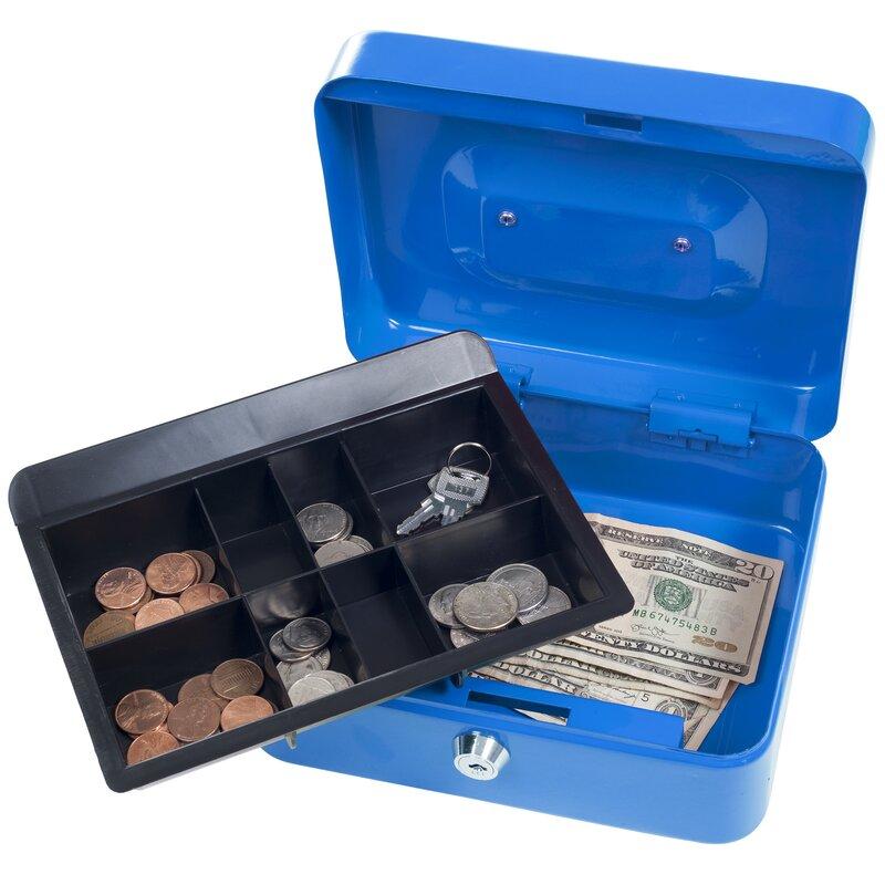 Key Lock Cash Box