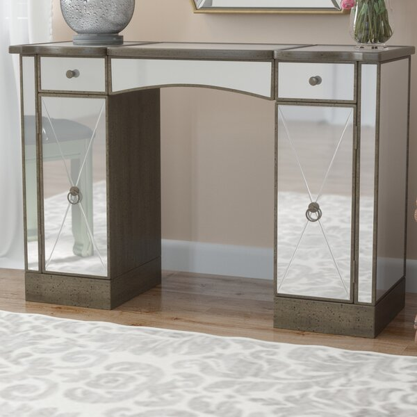 Masterpiece Vanity with Mirror by Butler